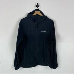 Columbia Men's Mixed Media Hooded Jacket Size L